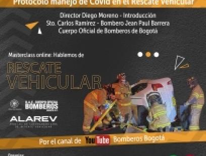 Manejo de covid en el rescate vehicular