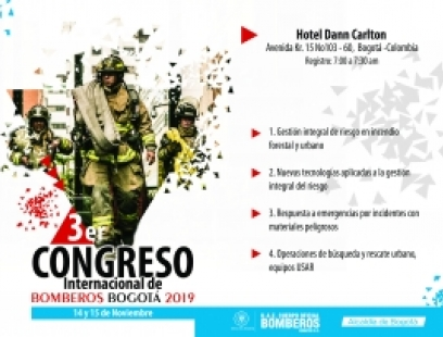 III CONGRESO INTERNACIONAL DE BOMBEROS 2019