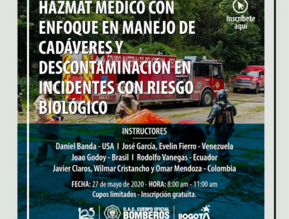 Foro Hazmat médico y descontaminación en incidente con riesgo biologico
