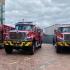 Bomberos Bogotá presenta sus cuatro nuevas máquinas
