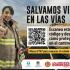 Agencia Nacional de Seguridad Vial y Bomberos Bogotá trabajan articuladamente para fortalecer la  prevención en las vías